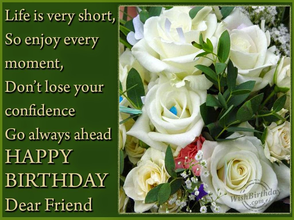 Best ideas about Birthday Wishes For Friends . Save or Pin Birthday Wishes Friend Birthday Wishes Now.