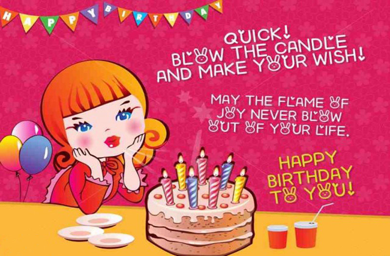 Best ideas about Birthday Wishes For Girl . Save or Pin Birthday Status Wishes For Baby Girl Best Birthday Quotes Now.