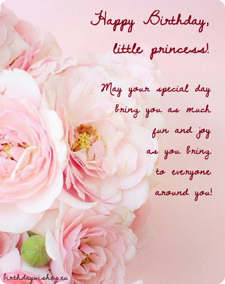 Best ideas about Birthday Wishes For Girl . Save or Pin Happy Birthday Little Girl Now.