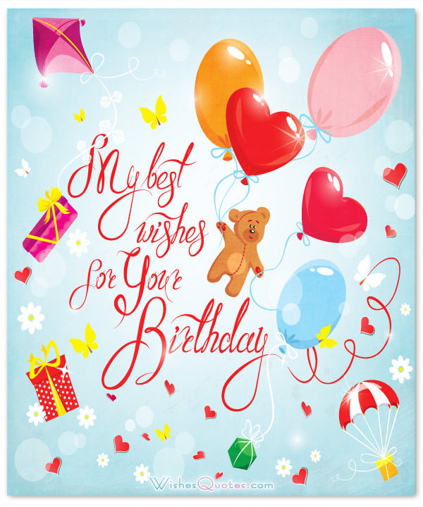 Best ideas about Birthday Wishes For Girl . Save or Pin Birthday Wishes for a Special Girl – WishesQuotes Now.