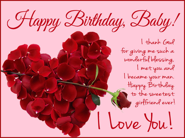 Best ideas about Birthday Wishes For Girlfriend . Save or Pin Happy Birthday Wishes for Girlfriend Wordings and Messages Now.