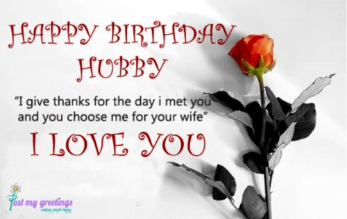 Best ideas about Birthday Wishes For Husband For Facebook . Save or Pin 60 Happy Birthday Husband Wishes Now.