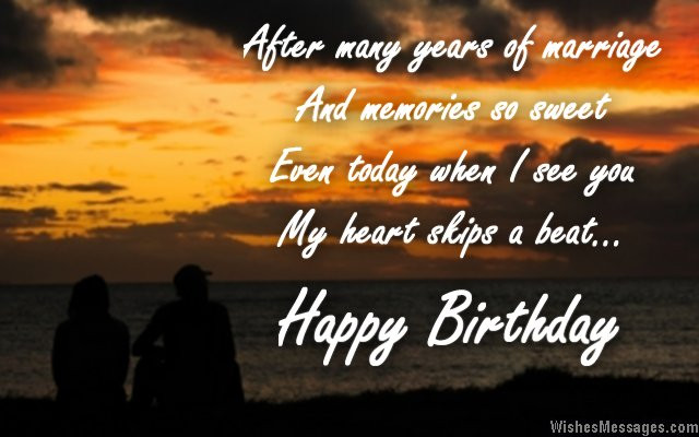 Best ideas about Birthday Wishes For Husband With Romantic . Save or Pin Birthday Wishes for Wife Quotes and Messages Now.