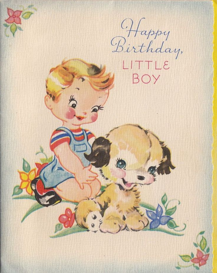 Best ideas about Birthday Wishes For Little Boy . Save or Pin 545 best Vintage Cards Birthday images on Pinterest Now.