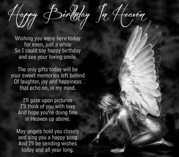 Best ideas about Birthday Wishes For Loved Ones . Save or Pin Best happy birthday in heaven wishes for your loved ones Now.