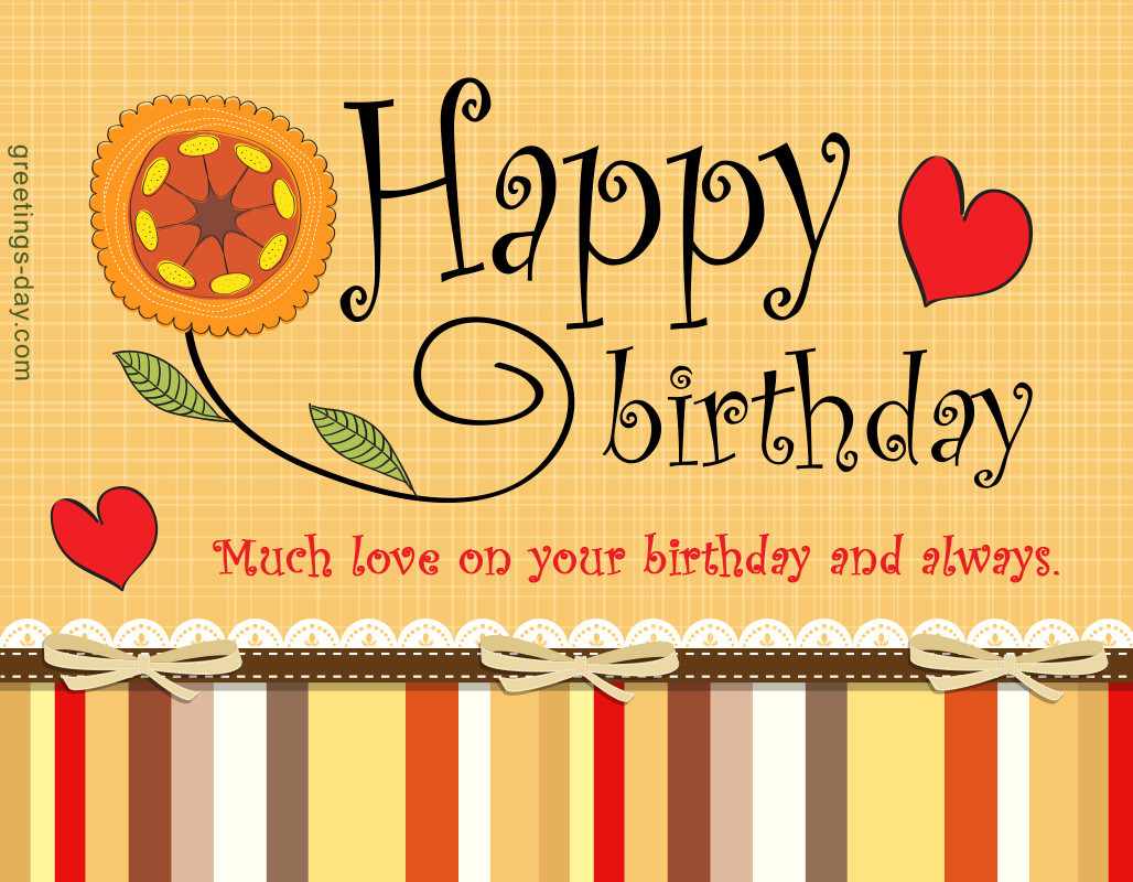 Best ideas about Birthday Wishes For Loved Ones . Save or Pin Greeting cards for every day November 2015 Now.