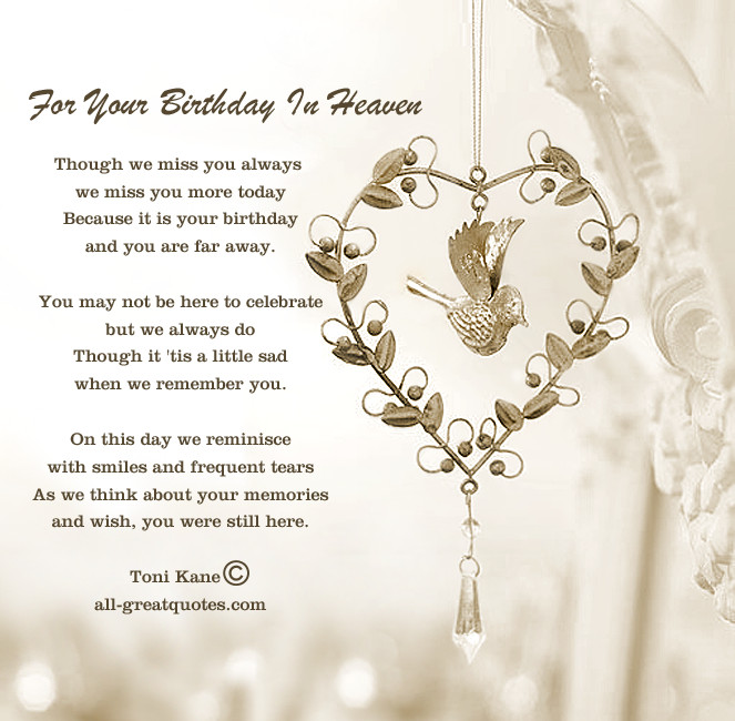 Best ideas about Birthday Wishes For Loved Ones . Save or Pin Lost Loved es Birthday Quotes QuotesGram Now.