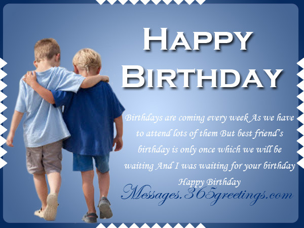 Best ideas about Birthday Wishes For Male Friend . Save or Pin Happy Birthday Wishes For Friends 365greetings Now.