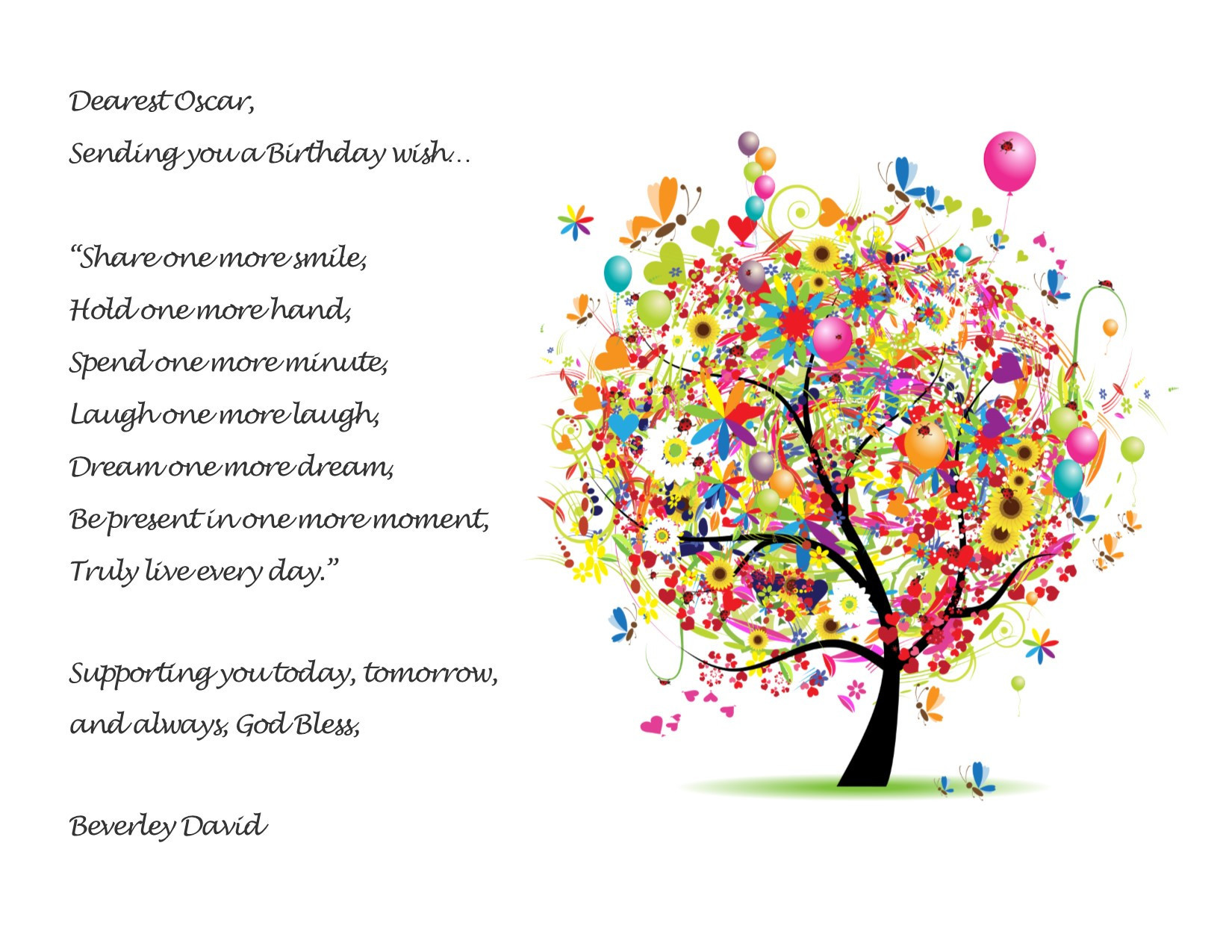 Best ideas about Birthday Wishes For Me . Save or Pin Birthday Wishes Sending you a Birthday wish Now.