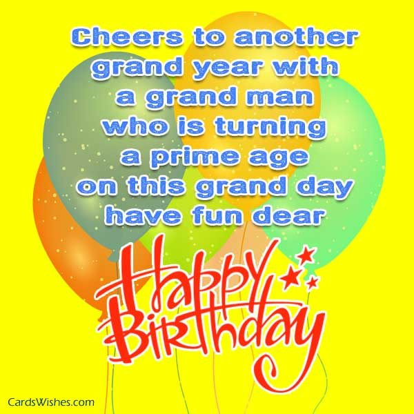 Best ideas about Birthday Wishes For Men . Save or Pin Birthday Wishes for Men Cards Wishes Now.