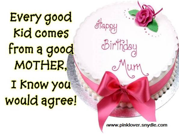 Best ideas about Birthday Wishes For Mom . Save or Pin birthday wishes for mom 5 Pink Lover Now.