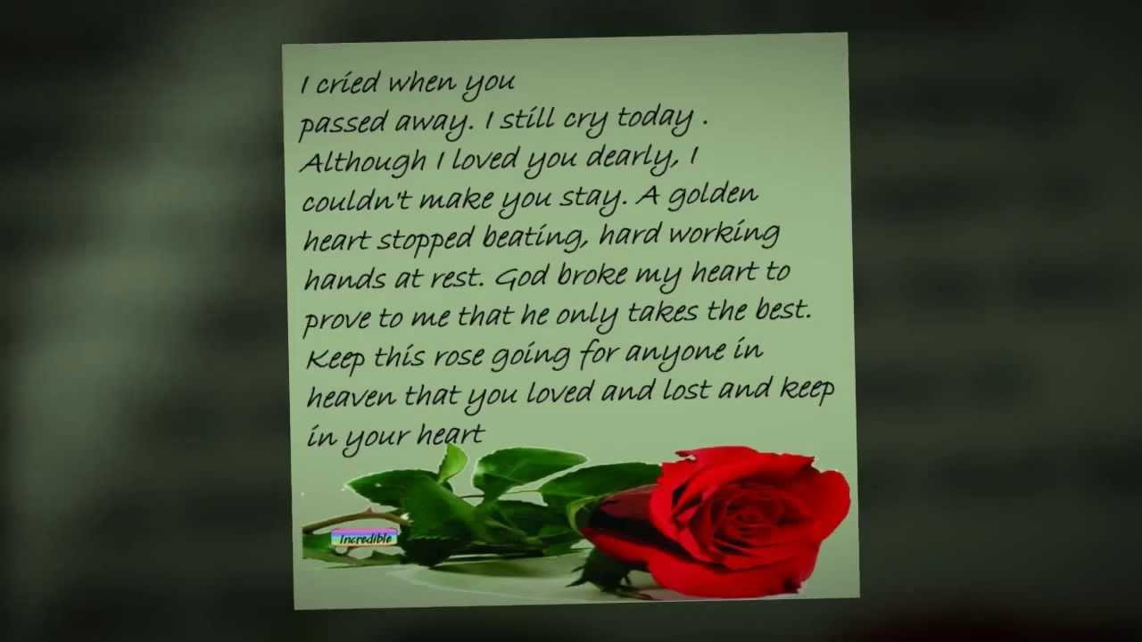 Best ideas about Birthday Wishes For Mom Who Has Passed Away . Save or Pin Happy Birthday Sissy Love Tony Now.