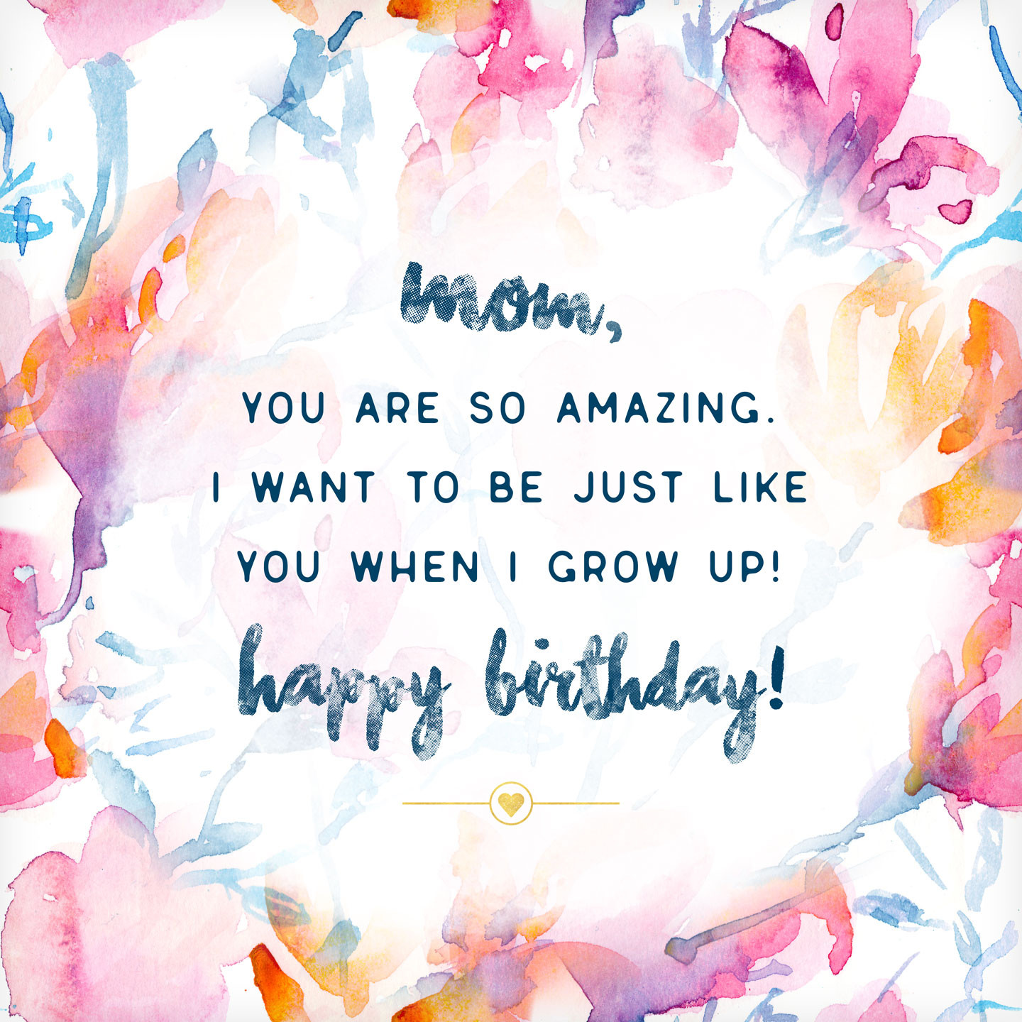 Best ideas about Birthday Wishes For Mother . Save or Pin What to Write in a Birthday Card 48 Birthday Messages and Now.
