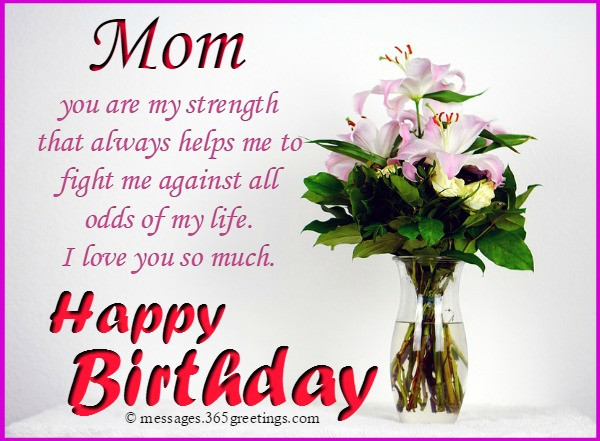 Best ideas about Birthday Wishes For Mother . Save or Pin Birthday Wishes for Mother 365greetings Now.