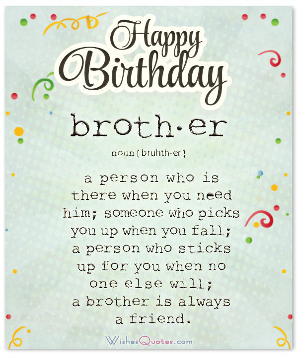 Best ideas about Birthday Wishes For My Brother . Save or Pin Happy Birthday Brother 100 Brother s Birthday Wishes Now.