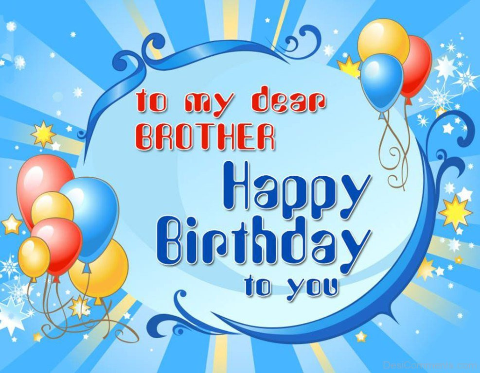 Best ideas about Birthday Wishes For My Brother . Save or Pin Birthday Wishes for Brother Graphics Now.