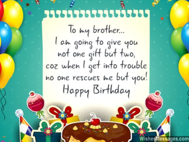 Best ideas about Birthday Wishes For My Brother . Save or Pin Birthday Wishes for Brother Quotes and Messages Now.