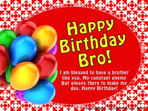 Best ideas about Birthday Wishes For My Brother . Save or Pin Birthday Wishes for Brother Now.