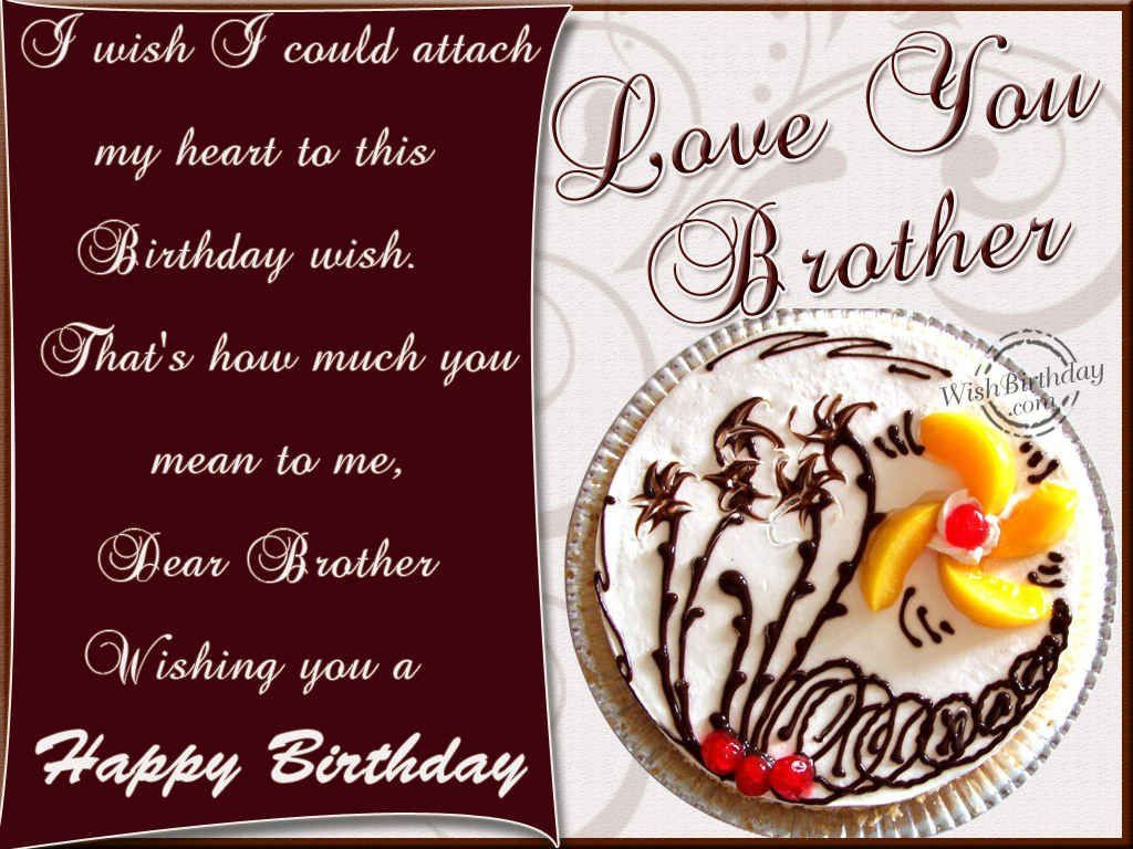 Best ideas about Birthday Wishes For My Brother . Save or Pin HAPPY BIRTHDAY ANDY LOVE DIANNA Places to Visit Now.