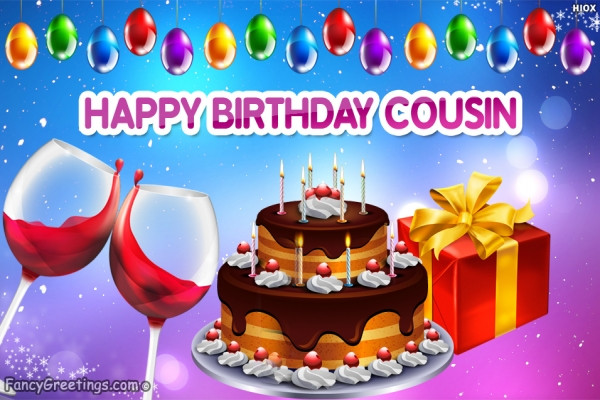 Best ideas about Birthday Wishes For My Cousin . Save or Pin Happy Birthday Wishes Cousin Now.