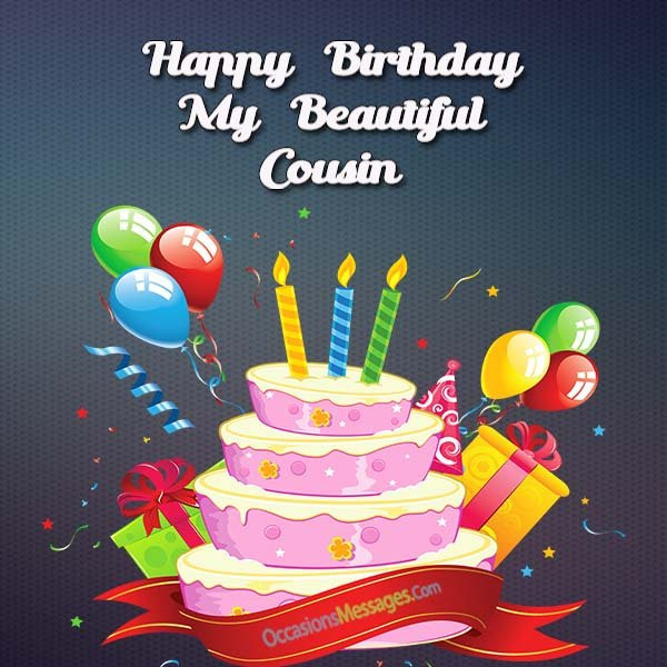 Best ideas about Birthday Wishes For My Cousin . Save or Pin Happy Birthday Wishes for Cousin Occasions Messages Now.