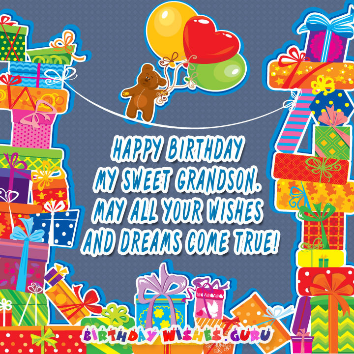 Best ideas about Birthday Wishes For My Grandson . Save or Pin Happy Birthday Wishes for Grandson Now.