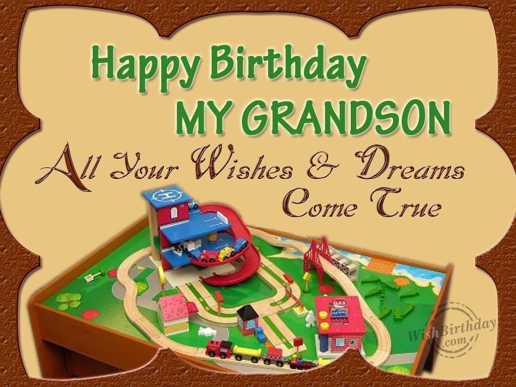 Best ideas about Birthday Wishes For My Grandson . Save or Pin birthday for grandson Now.