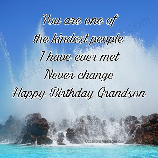 Best ideas about Birthday Wishes For My Grandson . Save or Pin Birthday Wishes for Grandson from Grandfather Occasions Now.