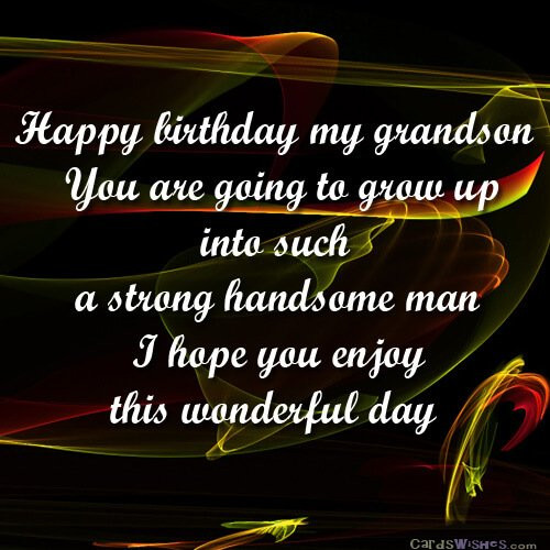 Best ideas about Birthday Wishes For My Grandson . Save or Pin Birthday Wishes for Grandson Cards Wishes Now.