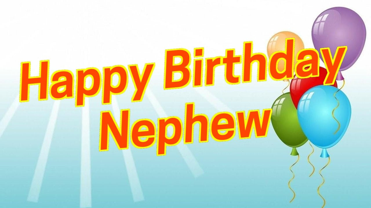 Best ideas about Birthday Wishes For My Nephew . Save or Pin Best Birthday Wishes To Nephew Now.