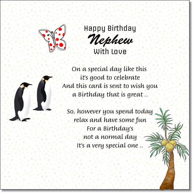 Best ideas about Birthday Wishes For My Nephew . Save or Pin Nephew Happy Birthday Messages from Aunt and Uncle Now.