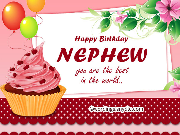 Best ideas about Birthday Wishes For My Nephew . Save or Pin Nephew Birthday Messages Happy Birthday Wishes for Nephew Now.