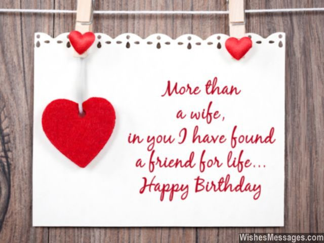Best ideas about Birthday Wishes For My Wife . Save or Pin Birthday Wishes for Wife Quotes and Messages Now.
