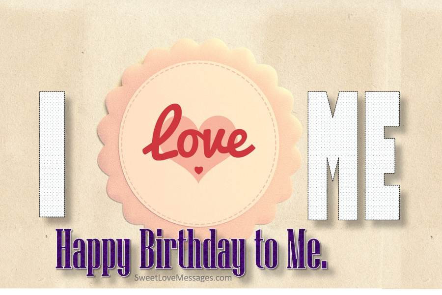 Best ideas about Birthday Wishes For Myself . Save or Pin 100 Birthday Wishes for Myself Wishing Myself Happy Now.