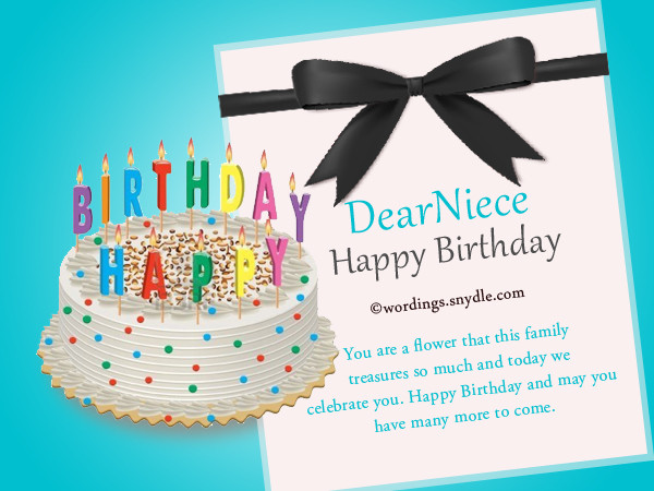 Best ideas about Birthday Wishes For Nice . Save or Pin Happy Birthday Wishes for Niece Niece Birthday Messages Now.