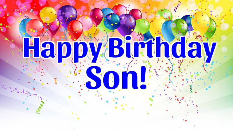 Best ideas about Birthday Wishes For Son From Mother For Facebook . Save or Pin Birthday Status For Son Happy Birthday Messages and Quotes Now.