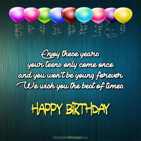 Best ideas about Birthday Wishes For Teenage Girl . Save or Pin Top 100 Birthday Wishes for Teenagers Occasions Messages Now.