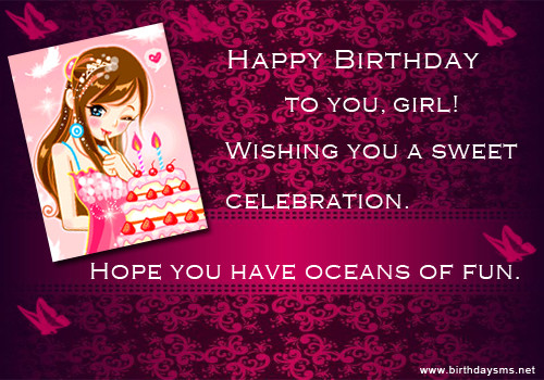 Best ideas about Birthday Wishes For Teenage Girl . Save or Pin Happy Birthday Teenage Girl Quotes QuotesGram Now.
