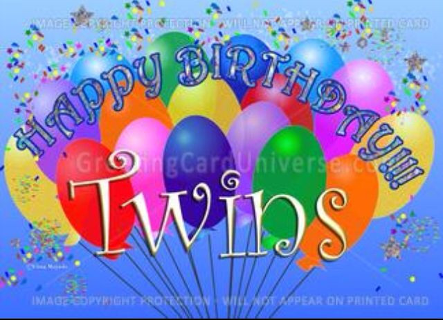 Best ideas about Birthday Wishes For Twin Sisters . Save or Pin Happy birthday Twins Happy Birthday Now.