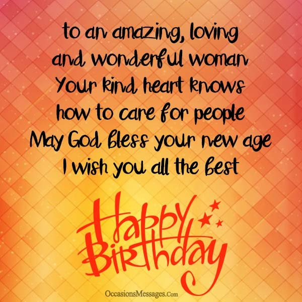 Best ideas about Birthday Wishes For Women . Save or Pin Happy Birthday Wishes for a Woman Occasions Messages Now.