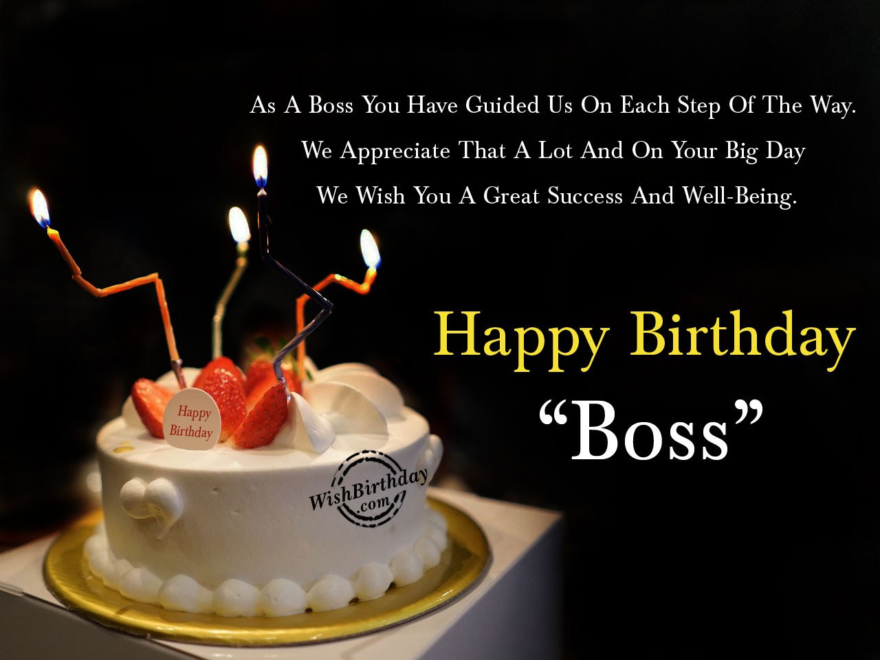 Best ideas about Birthday Wishes For Your Boss . Save or Pin Birthday Wishes For Boss Birthday Now.
