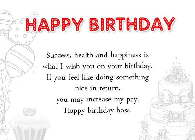 Best ideas about Birthday Wishes For Your Boss . Save or Pin Professional Happy Birthday Wishes For Boss Birthday Now.