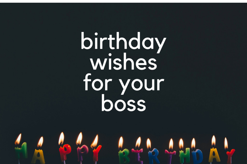 Best ideas about Birthday Wishes For Your Boss . Save or Pin Birthday Wishes for Boss What to Say and How OFFSITE Now.