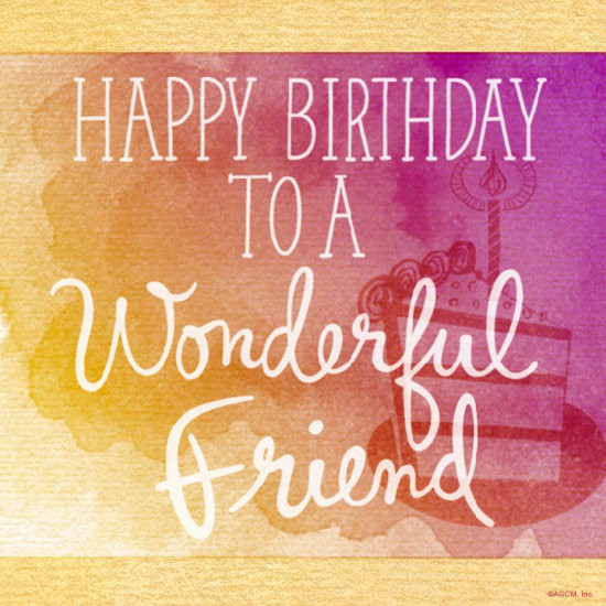 Best ideas about Birthday Wishes Friend . Save or Pin Birthday Wishes for a Friend Blue Mountain Blog Now.