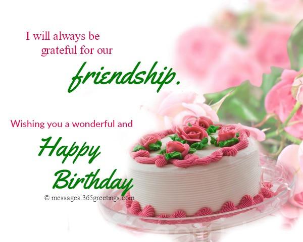 Best ideas about Birthday Wishes Friend . Save or Pin Happy Birthday Wishes For Friends 365greetings Now.