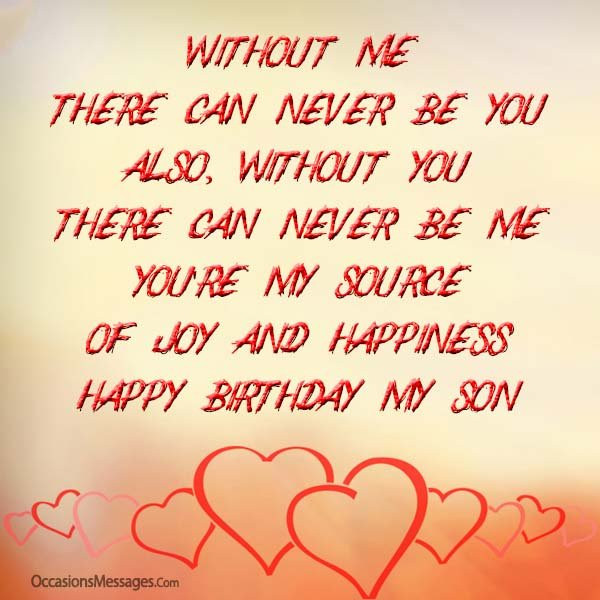 Best ideas about Birthday Wishes From Mom To Son . Save or Pin Birthday Wishes for Son from Mother Occasions Messages Now.