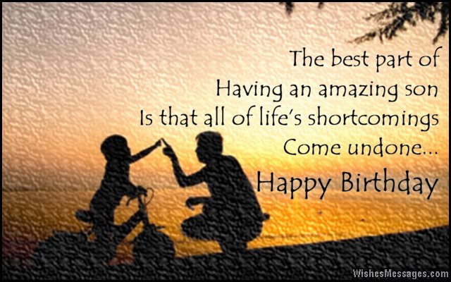 Best ideas about Birthday Wishes From Mom To Son . Save or Pin Birthday Wishes for Son Quotes and Messages Now.