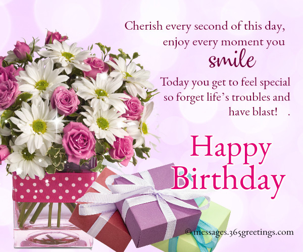 Best ideas about Birthday Wishes Images . Save or Pin Happy Birthday Wishes and Messages 365greetings Now.