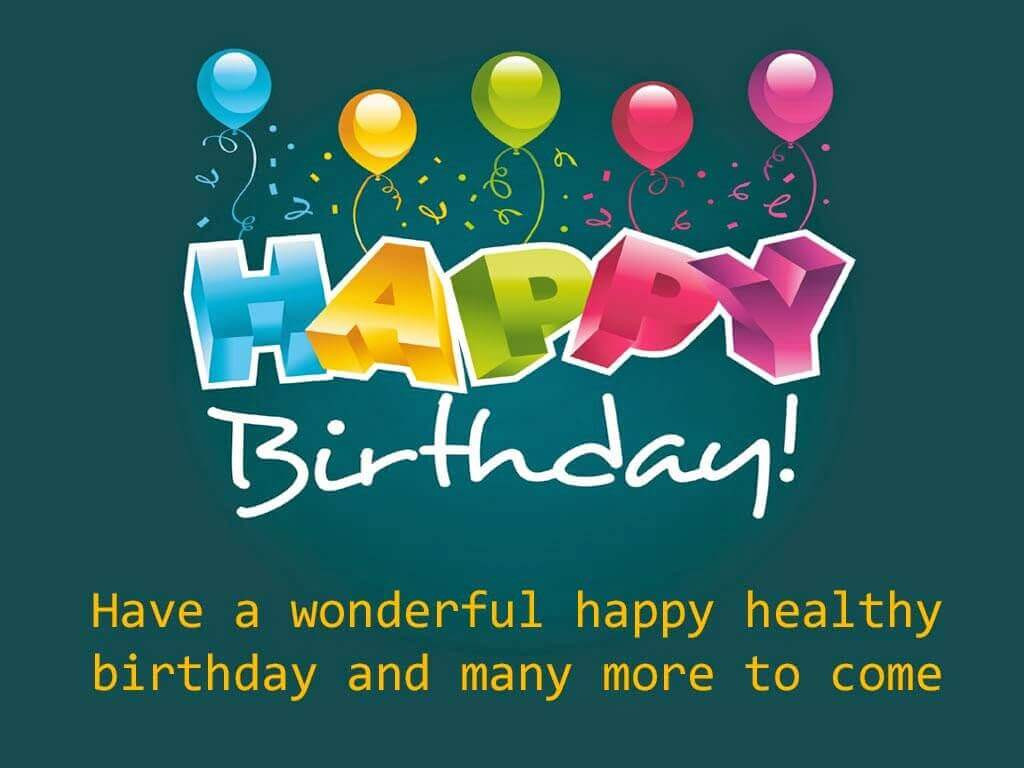 Best ideas about Birthday Wishes Images . Save or Pin Happy Birthday Now.