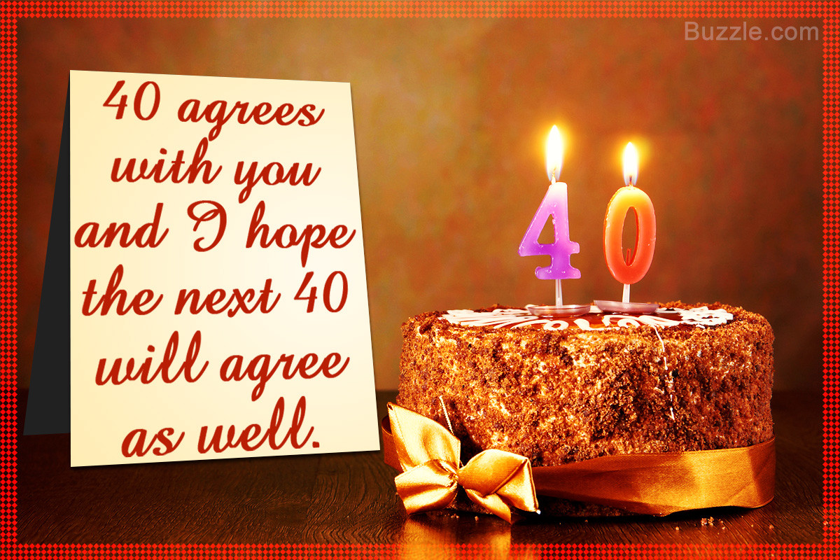 Best ideas about Birthday Wishes Messages . Save or Pin A Huge List of Amazing Happy 40th Birthday Wishes and Messages Now.
